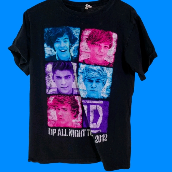 One Direction Up All Night 2012 Tour Shirt